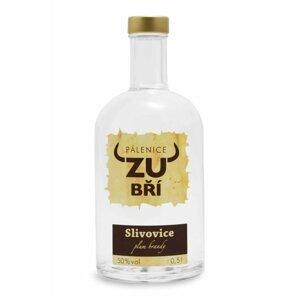 Slivovice Zubří 0,5l 50%