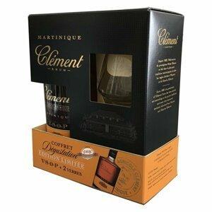 Clement Vieux VSOP 0,7l 40% + 2x sklo GB