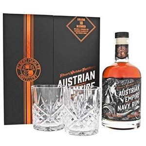 Austrian Empire Navy Rum 18y 0,7l 40% + 2x sklo GB
