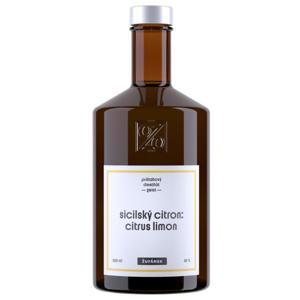 Sicilský citron Žufánek 2018 0,5l 42%