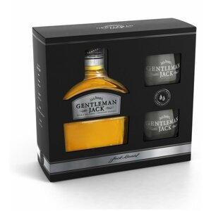 Jack Daniel's Gentleman Jack 0,7l 40% + 2x sklo GB