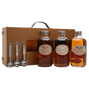 Nikka Pure Malt Wooden Box Whisky 3×0,5l 51,4%