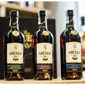 Ron Abuelo Finish Collection 15y 3×0,2l 40% GB