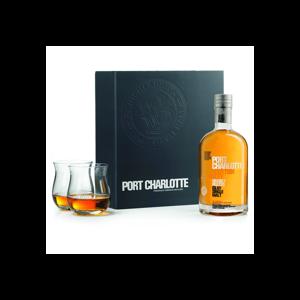 Bruichladdich Port Charlotte 0,7l 50% + 2x sklo GB