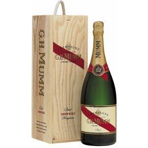 Mumm Cordon Rouge Brut 1,5l 12% Dřevěný box