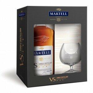 Martell VS 0,7l 40% + 1x sklo GB