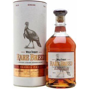 Wild Turkey Rare Breed Barrel Proof 0,7l 58,4% Tuba