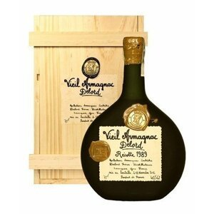 Armagnac Delord 1989 0,7l 40% Dřevěný box
