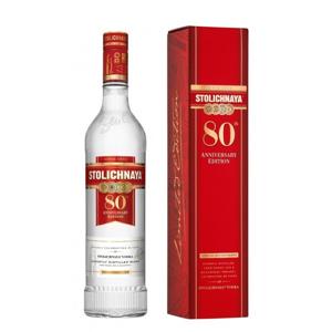 Stolichnaya vodka 80th Anniversary Edition 1l 40%