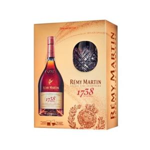 Rémy Martin 1738 Accord Royal Special Cuvée 0,7l 40% + 2x sklo GB