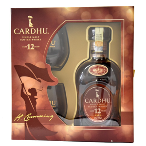 Cardhu 12y 0,7l 40% + 2x sklo GB