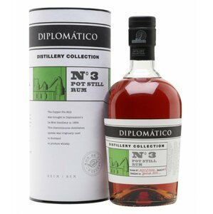 Diplomatico No. 3 Pot Still Rum Distillery Collection 2010 0,7l 47% L.E.