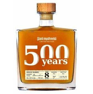Stará Myslivecká Single Barrel Bourbon 8y 0,7l 40% L.E.