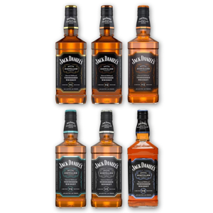 Jack Daniel's Master Distiller Set No.1-6 6×0,7l 43%
