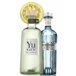 Yu Gin 43% & Bistro vodka 40% 2×0,7l