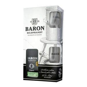 Baron Hildprandt Zralá Hruška 0,7l 40% + 2x sklo GB