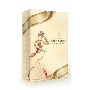 Johnnie Walker Gold Label Reserve 0,7l 40% + 2x sklo GB