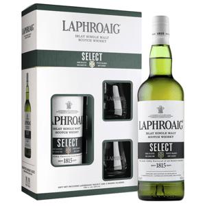 Laphroaig Select 0,7l 40% + 2x sklo GB