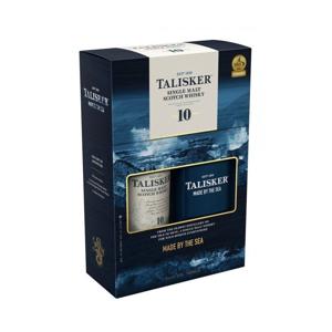 Talisker 10y 0,7l 45,8% GB + Placatka