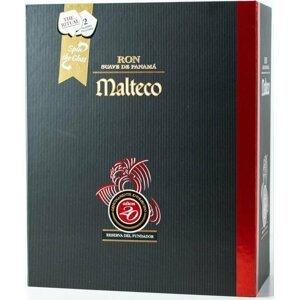 Malteco 20y 0,7l 40% + 2x sklo GB