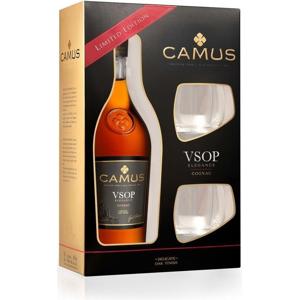 Camus VSOP 0,7l 40% + 2x sklo GB