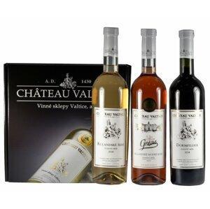 Chateau Valtice Trio Přívlastkové Pozdní sběr 2018 3×0,75l GB