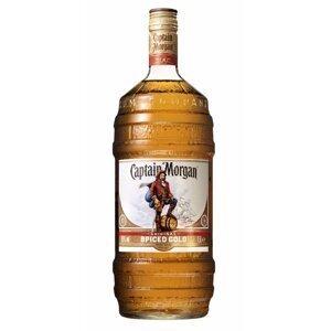 Captain Morgan Gold Spiced  1,5l 35% Barrel