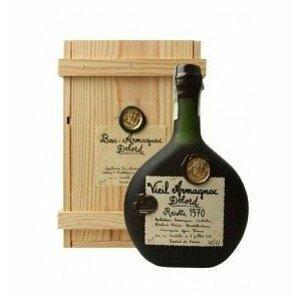 Armagnac Delord 1970 0,7l 40% Dřevěný box