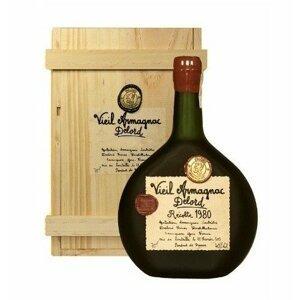 Armagnac Delord 1980 0,7l 40% Dřevěný box