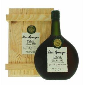 Armagnac Delord 1990 0,7l 40% Dřevěný box