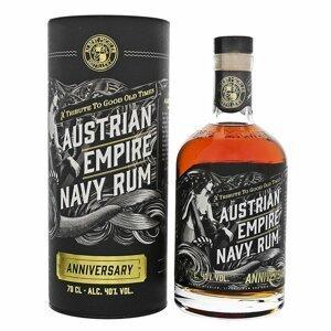 Austrian Empire Navy Rum Anniversary 0,7l 40% Tuba