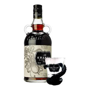 Kraken Black 0,7l 40% + 1x sklo