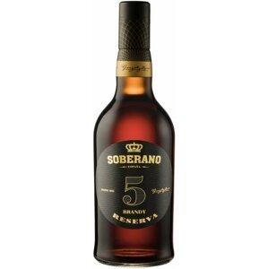 Soberano Brandy Reserva 5y 0,7l 36%