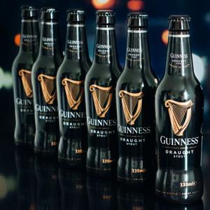 Guinness Stout Draught 11° 0,33l 4,2% - 5 + 1 zdarma