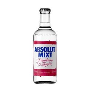 Absolut Mixt Raspberry & Lemon 0,275l 4,5%