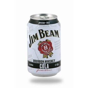 Jim Beam Bourbon & Whiskey 0,33l 4,5%