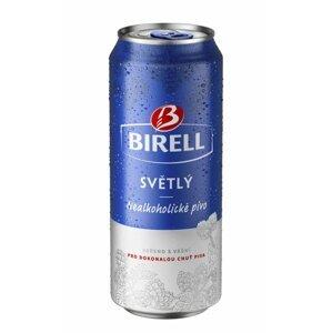 Birell světlý Nealko 4×0,5l Plech