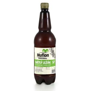 Muflon světlý ležák za studena chmelený 12° 1l 5% PET