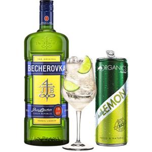 Becherovka & Bitter Lemon set