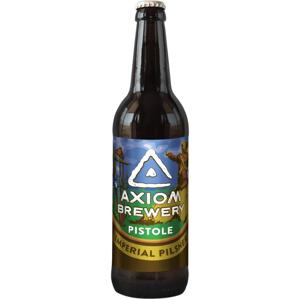 Axiom Pistole – Imperial Czech Pilsner 16° 0,33l 6,5%