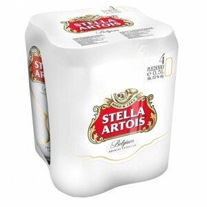 Stella Artois 11,4° 4×0,5l 5% Plech