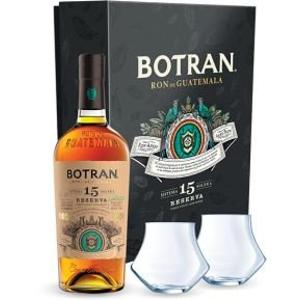 Ron Botran Reserva 15y 0,7l 40% + 2x sklo GB