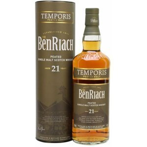 BenRiach Temporis Peated 21y 0,7l 46%