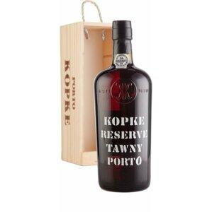 Kopke Reserve Tawny 0,75l 19,5% Dřevěný box