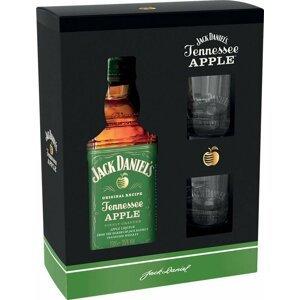 Jack Daniel's Apple 0,7l 35% + 2x sklo GB 0,7l