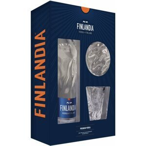 Vodka Finlandia 2020 0,7l 40% + 2x sklo GB