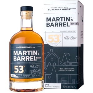 Martin's Barrel 3y 0,7l 53% GB L.E. / Rok lahvování 2020