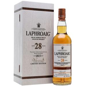Laphroaig Cask Strength 28y 0,7l 44,4% GB L.E. / Rok lahvování 2018
