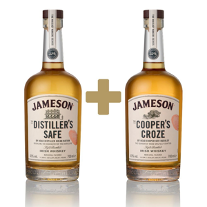 Jameson Makers Series The Distiller's Safe + The Cooper's Croze 2×0,7l 43%