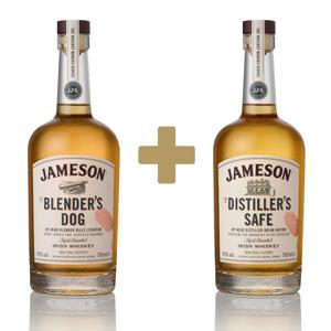 Jameson Makers Series The Blender's Dog + Jameson The Distiller's Safe 2×0,7l 43%
